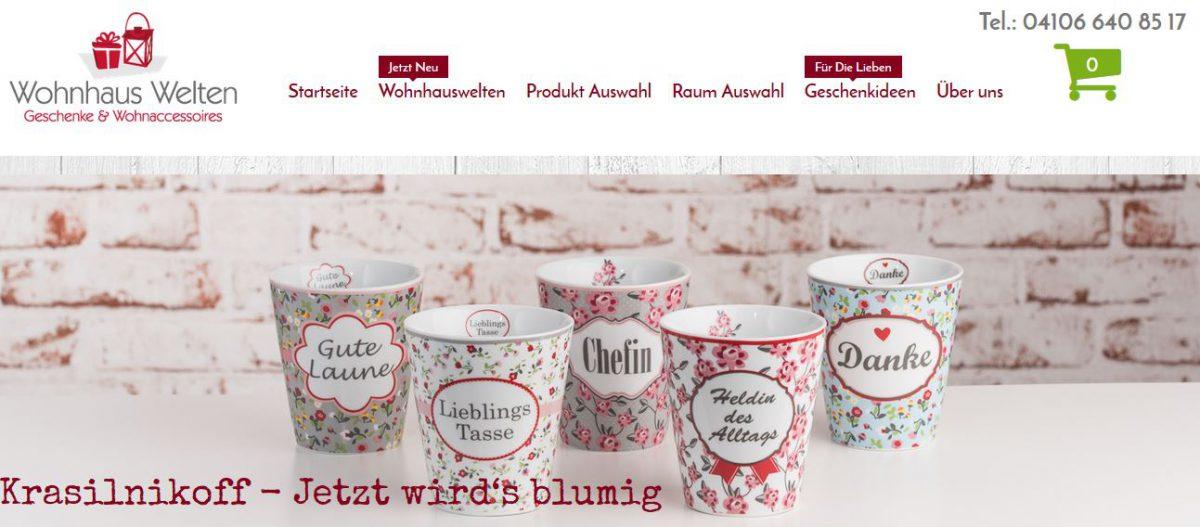 KonVis – Kunden Online Shop ist online gegangen – www.wohnhaus-welten.de